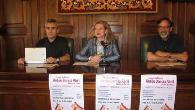 La Escuela Municipal de Música de Teruel realiza un centenar de actividades