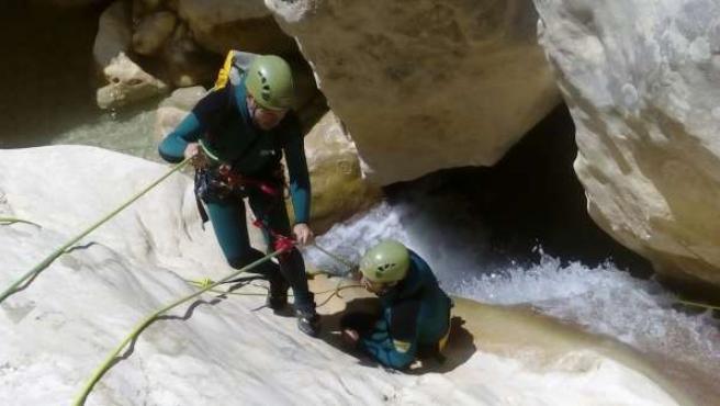 Agentes de Protección de la Naturaleza, más preparados para actuar en barrancos