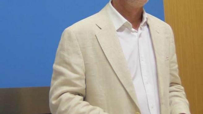 El candidato de ZEC, Pedro Santisteve