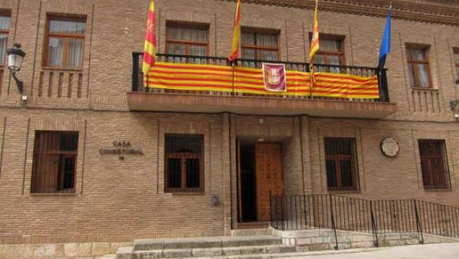 Ayuntamiento de Daroca (Zaragoza).