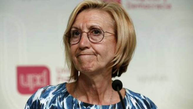 La secretaria general de UPyD, Rosa Díez
