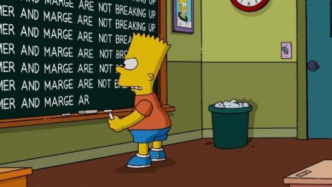 La serie de Los Simpson desmiente la ruptura de Homer y Marge