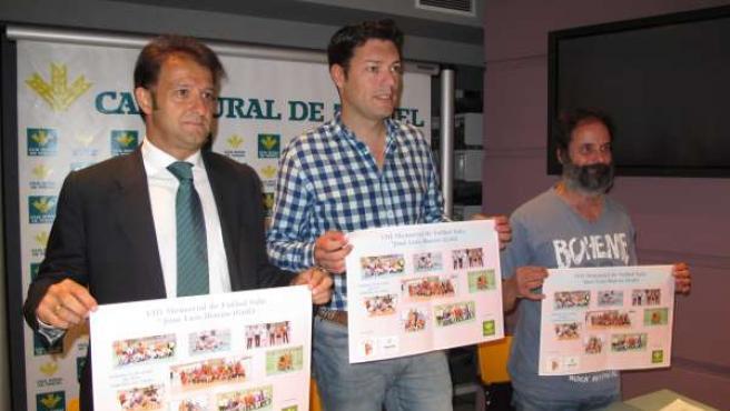 Presentación del Memorial de Fútbol Sala 'Goli' en Teruel