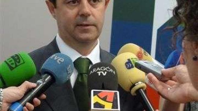 El alcalde de Huesca, Luis Felipe