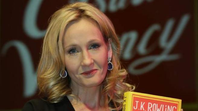 La escritora británica J. K. Rowling, el pasado septiembre, durante la presentación de su libro 'The Casual Vacancy' ('Una vacante imprevista') en Londres.