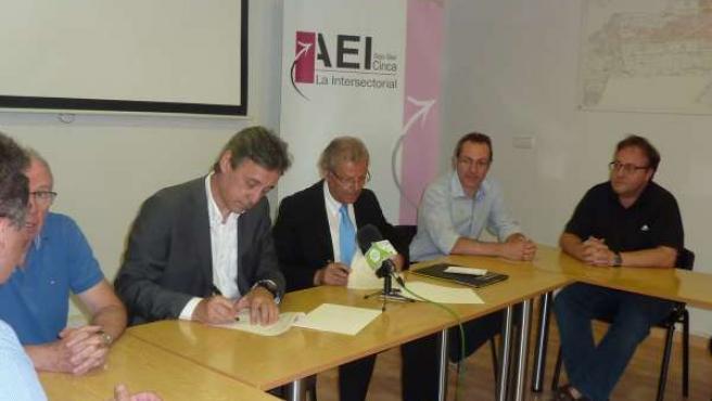 Monegros Empresarial e Intersectorial Bajo Cinca se incorporan a CEOS-CEPYME.
