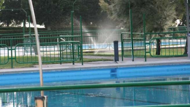 Piscinas municipales de Mequinenza (Zaragoza)