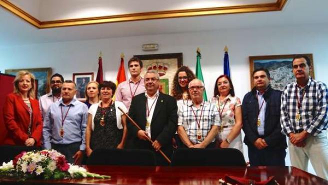 Investidura de Antonio Artacho como alcalde de Casabermeja