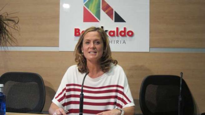 Amaia del Campo, alcaldesa de Barakaldo