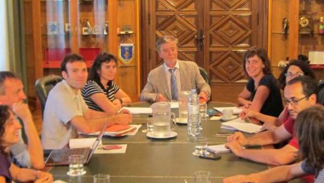 Primera reunión del Gobierno de Zaragoza de ZEC