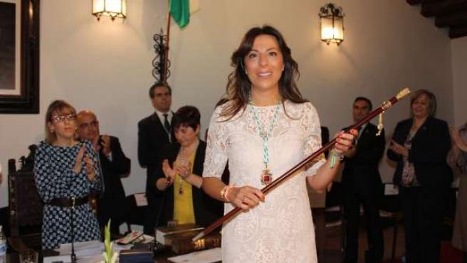 María Paz Fernández, alcaldesa de Ronda mandato 2015-2019 gobierno minoría