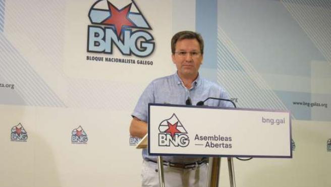 Xavier Vence, portavoz nacional del BNG