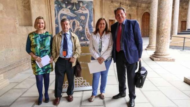 Seminario en la Alhambra, con María del Mar Villafranca