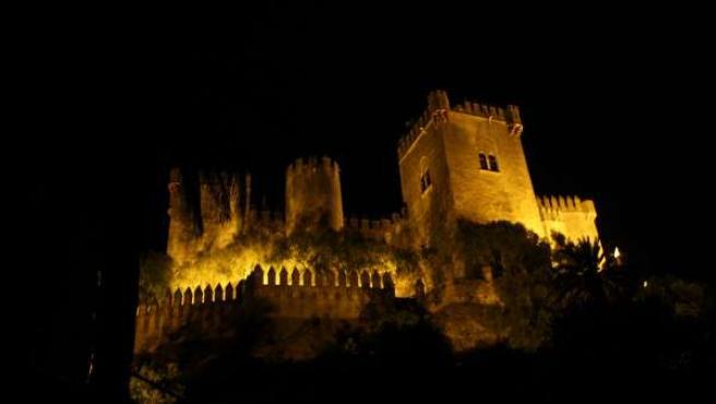 El Castillo de Almodóvar con la nueva iluminación