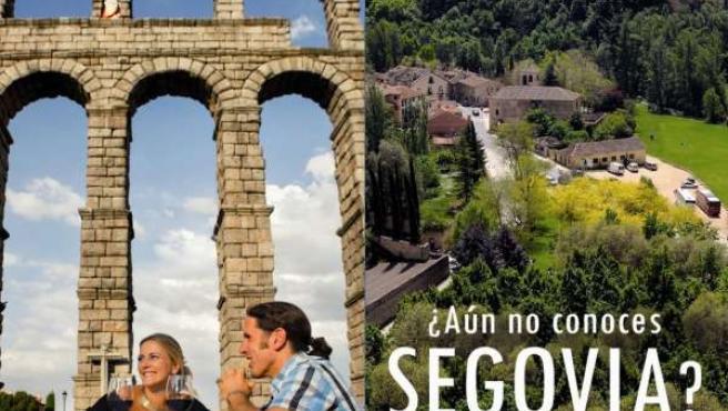 Promoción de Segovia en los planos de metro