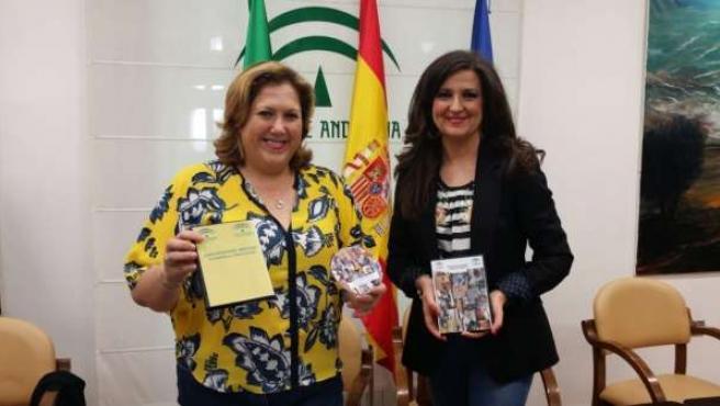 Jiménez y Caballero, con la guía 'Discapacidad motora: Cuidados y atenciones' .