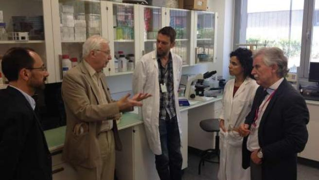 Premio Nobel De Química En 1987, Jean-Marie Lehn, Visita Bionand, En PTA
