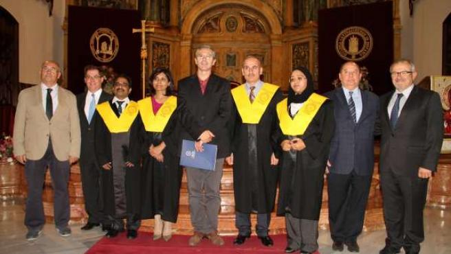 Alumnos de la sede de la UCAM en Dubái se gradúan en Los Jerónimos