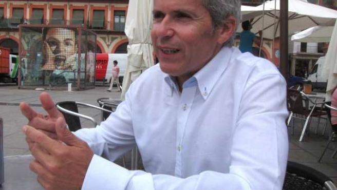 El candidato de Ganemos Córdoba, Rafael Blázquez