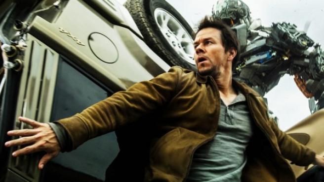 Mark Wahlberg en la cuarta entrega de Tranformers.