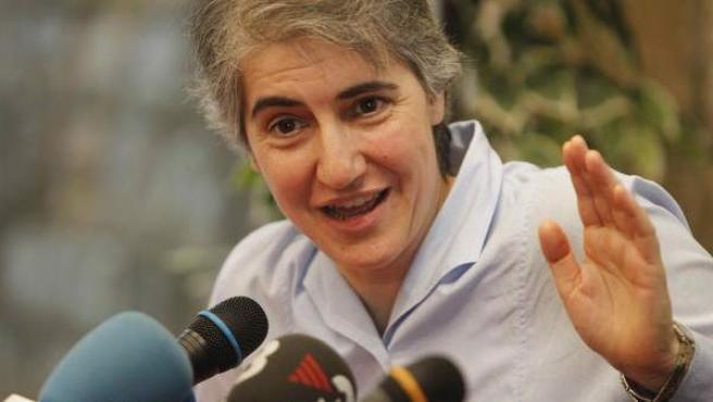 La monja Teresa Forcades presenta su libro 'Per amor a la Justícia'