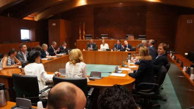 Reunión del Grupo Parlamentario Popular