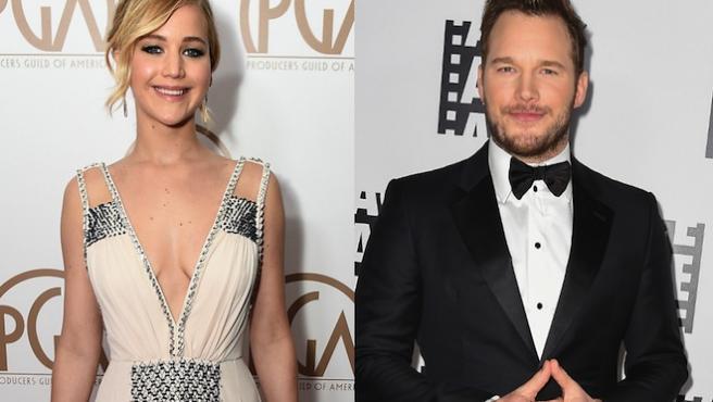 'Passengers' se pone en marcha con Jennifer Lawrence y Chris Pratt