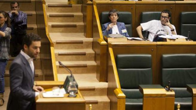 El representante del PP Borja Sémper en el Parlamento Vasco.