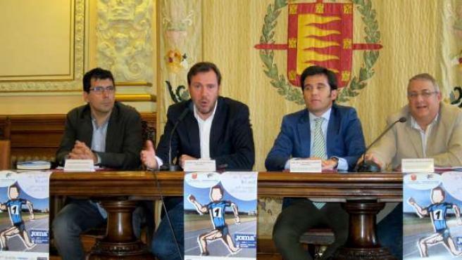 Presentación del Campeonato de España Infantil en el Ayuntamiento