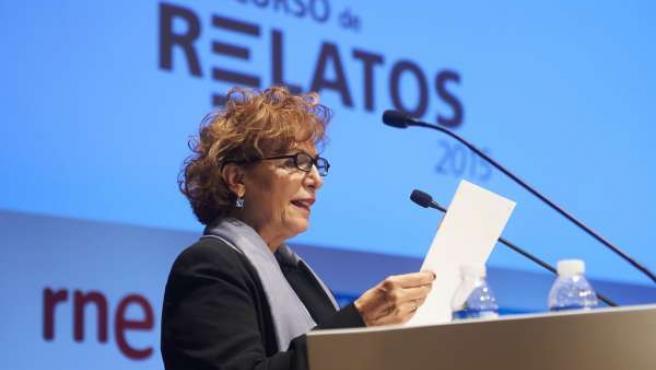 Luisa Fernández, ganadora del Concurso de Relatos Escritos por Personas Mayores