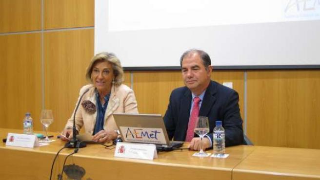 Cristina Herrera y Marcelino Núñez