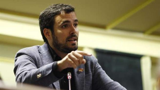 Alberto Garzón, diputado de Izquierda Plural