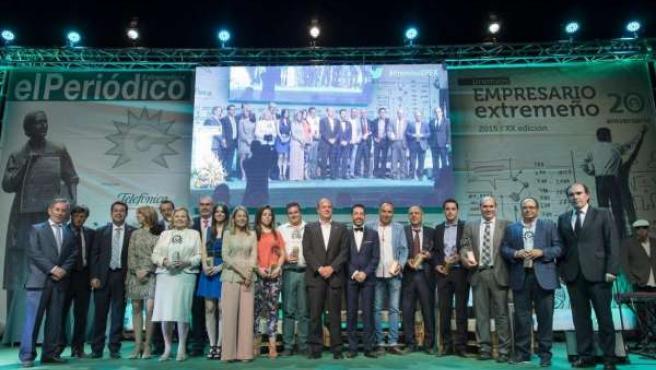 Premios Empresario del Año 2015