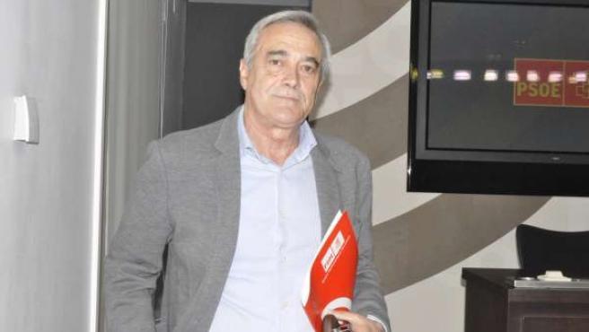 Javier Sada, portavoz del PSOE en las Cortes de Aragón
