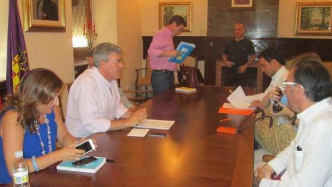 Reunión con el grupo municipal de Ciudadanos