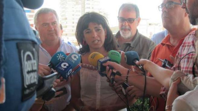 La secretaria general de Podemos, Teresa Rodríguez.