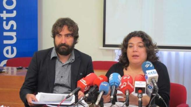 María Silvestre y Braulio Gómez
