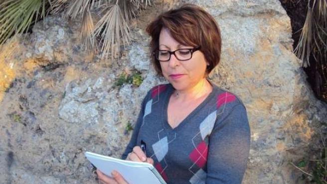 La escritora Ana María Alcaraz Roca