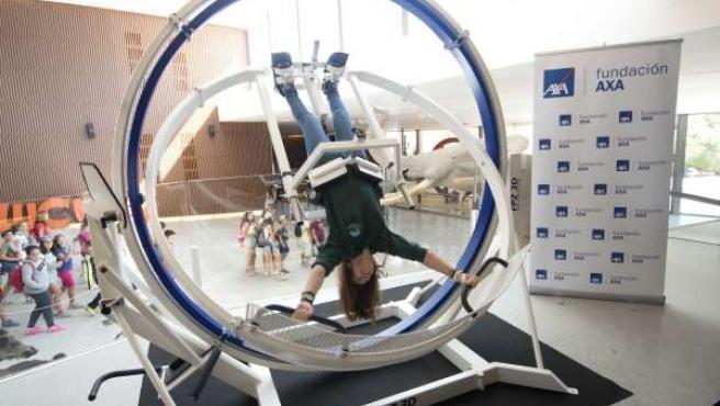 Demostración en el Parque de las Ciencias