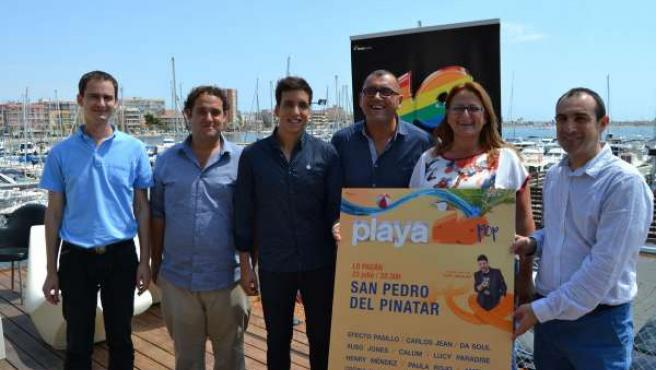 Lo Pagán acoge de nuevo el evento musical Playa 40 Pop el próximo 23 de julio