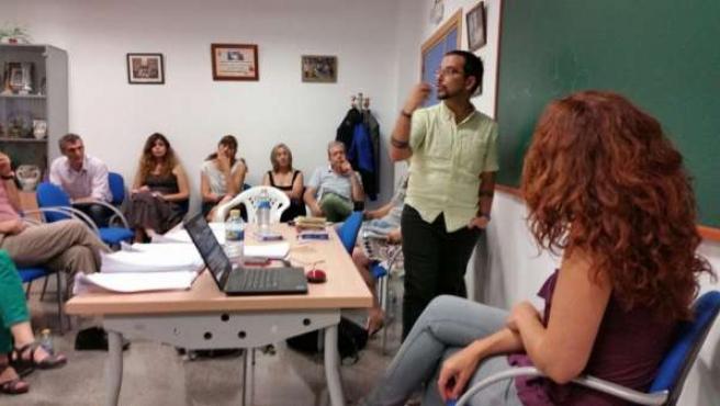 Visita Sergio Pascual