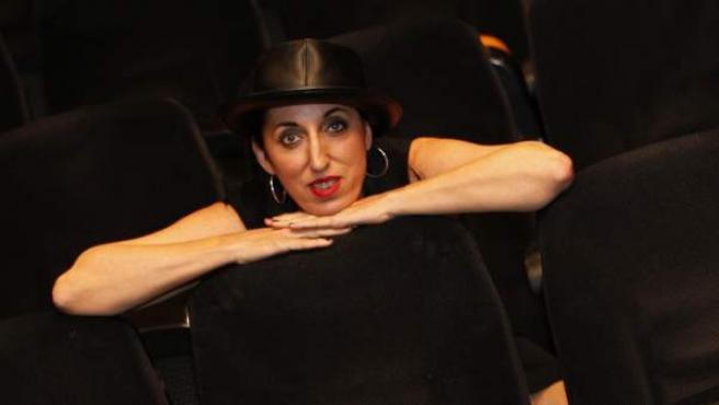 Rossy de Palma posa para los medios, días antes del lanzamiento de la película 'No molestar'.