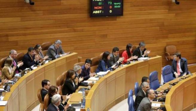 Imagen de archivo del parlamento gallego.