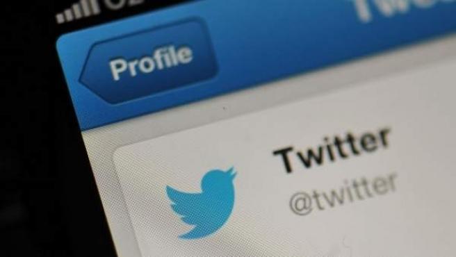 Aplicación para teléfono móvil de Twitter.