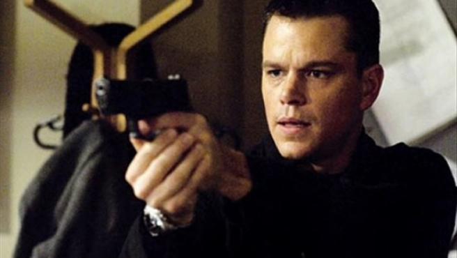 Matt Damon en el papel del agente Bourne.