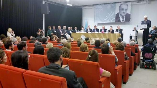 Plenario de la RAG este domingo en Pontevedra con motivo de las Letras Galegas