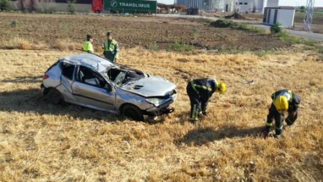 Accidente en Antequera Consorcio Provincial de Bomberos (CPB)