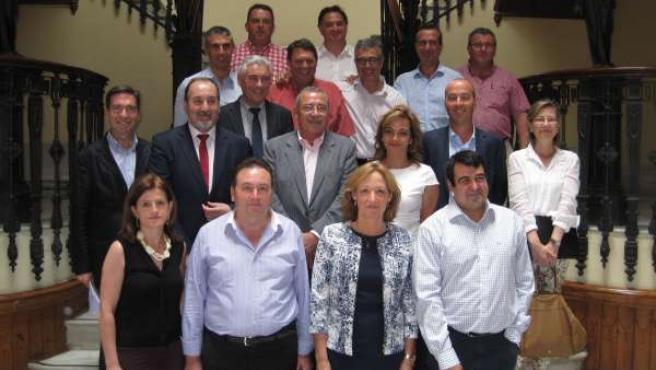 Reunión de la consejera de Agricultura con el sector agrícola almeriense
