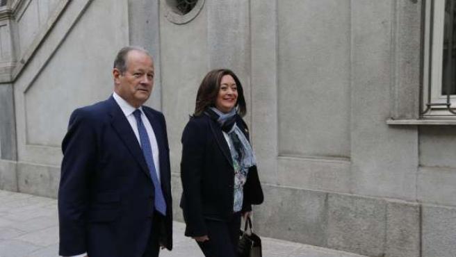 Mar Moreno declara en el Tribunal Supremo