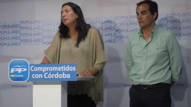 Loles López con José Antonio Nieto